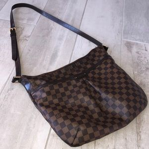 LOUIS VUITTON Bloomsbury GM Damier Ebene